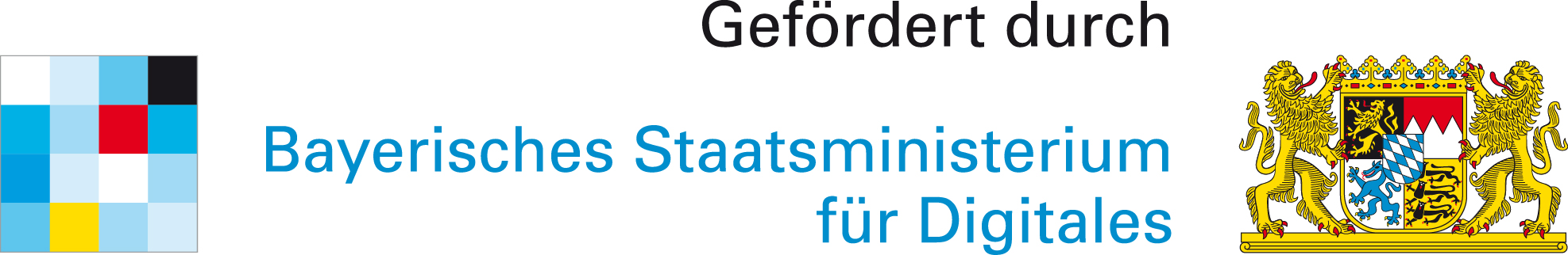 Gefördert durch Bayerisches Staatsministerium für Digitales